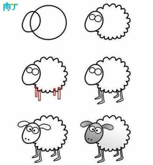 儿童简易学画 十篇简单易学的儿童画简笔画小动物速学