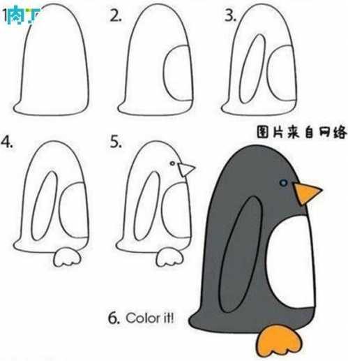 儿童简易学画 十篇简单易学的儿童画简笔画小动物速学教程图解